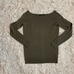 Theory Boatneck Wool Top